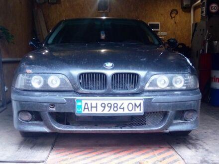 Черный БМВ 5 Серия, объемом двигателя 2.5 л и пробегом 457 тыс. км за 3400 $, фото 1 на Automoto.ua