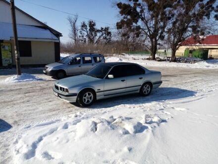 Серый БМВ 5 Серия, объемом двигателя 1.8 л и пробегом 350 тыс. км за 4600 $, фото 1 на Automoto.ua