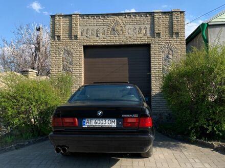 Синий БМВ 5 Серия, объемом двигателя 2 л и пробегом 351 тыс. км за 3150 $, фото 1 на Automoto.ua