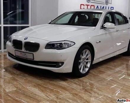 Белый БМВ 5 Серия, объемом двигателя 3 л и пробегом 67 тыс. км за 40000 $, фото 1 на Automoto.ua