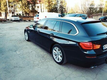 Черный БМВ 520, объемом двигателя 2 л и пробегом 295 тыс. км за 16000 $, фото 1 на Automoto.ua