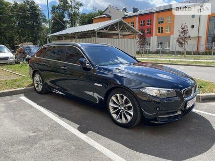 Черный БМВ 520, объемом двигателя 2 л и пробегом 187 тыс. км за 25500 $, фото 1 на Automoto.ua