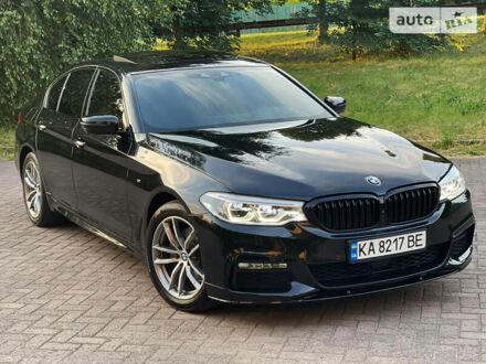 Черный БМВ 520, объемом двигателя 2 л и пробегом 100 тыс. км за 40799 $, фото 1 на Automoto.ua
