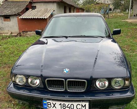 Синій БМВ 520, об'ємом двигуна 2 л та пробігом 400 тис. км за 2700 $, фото 1 на Automoto.ua
