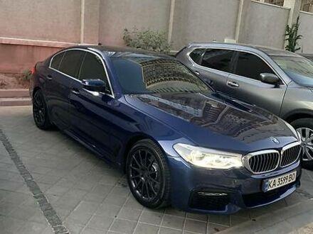 Синий БМВ 520, объемом двигателя 2 л и пробегом 65 тыс. км за 38500 $, фото 1 на Automoto.ua