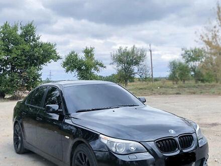 Черный БМВ 523, объемом двигателя 2.5 л и пробегом 280 тыс. км за 8700 $, фото 1 на Automoto.ua