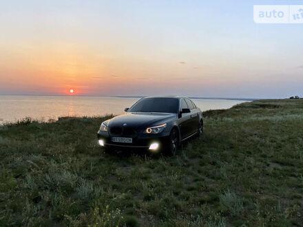 Черный БМВ 523, объемом двигателя 2.5 л и пробегом 240 тыс. км за 12500 $, фото 1 на Automoto.ua