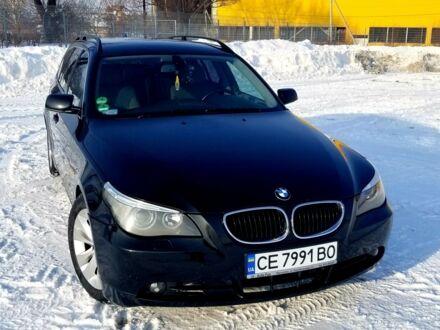 Черный БМВ 525, объемом двигателя 3.5 л и пробегом 340 тыс. км за 10600 $, фото 1 на Automoto.ua