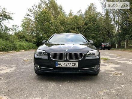 Черный БМВ 525, объемом двигателя 2 л и пробегом 290 тыс. км за 16200 $, фото 1 на Automoto.ua