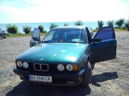 Зеленый БМВ 525, объемом двигателя 2.5 л и пробегом 400 тыс. км за 2300 $, фото 1 на Automoto.ua