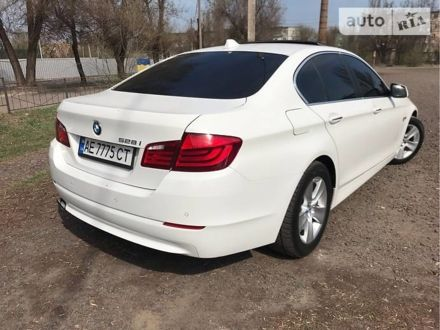 Белый БМВ 528, объемом двигателя 2 л и пробегом 125 тыс. км за 15100 $, фото 1 на Automoto.ua