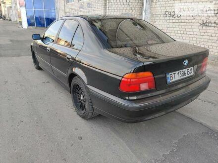 Чорний БМВ 528, об'ємом двигуна 2.8 л та пробігом 348 тис. км за 6200 $, фото 1 на Automoto.ua