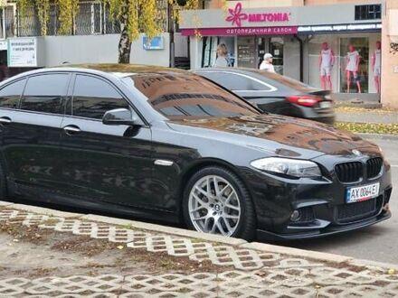 Черный БМВ 528, объемом двигателя 2 л и пробегом 173 тыс. км за 17500 $, фото 1 на Automoto.ua