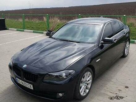 Чорний БМВ 528, об'ємом двигуна 2 л та пробігом 229 тис. км за 14100 $, фото 1 на Automoto.ua