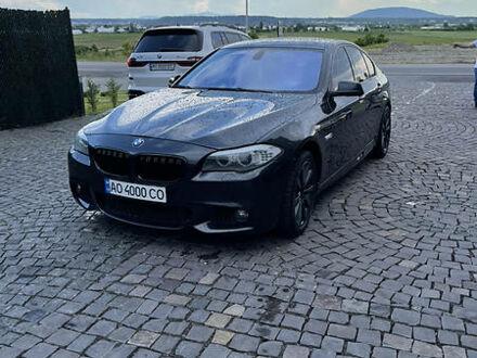 Черный БМВ 528, объемом двигателя 2 л и пробегом 197 тыс. км за 17700 $, фото 1 на Automoto.ua