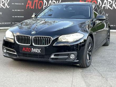 Чорний БМВ 528, об'ємом двигуна 2 л та пробігом 120 тис. км за 20900 $, фото 1 на Automoto.ua