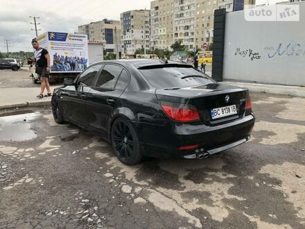 Черный БМВ 530, объемом двигателя 3 л и пробегом 300 тыс. км за 9500 $, фото 1 на Automoto.ua