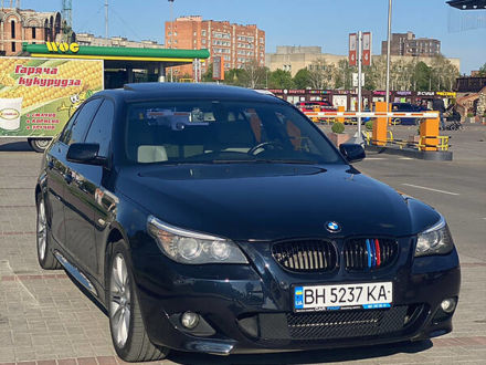 Черный БМВ 530, объемом двигателя 3 л и пробегом 290 тыс. км за 12999 $, фото 1 на Automoto.ua