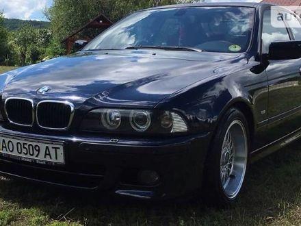 Синий БМВ 530, объемом двигателя 3 л и пробегом 280 тыс. км за 13500 $, фото 1 на Automoto.ua