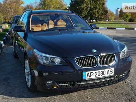 Синий БМВ 530, объемом двигателя 3 л и пробегом 212 тыс. км за 15500 $, фото 1 на Automoto.ua