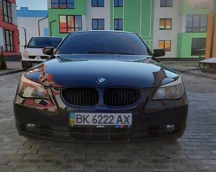 Синий БМВ 530, объемом двигателя 3 л и пробегом 300 тыс. км за 11500 $, фото 1 на Automoto.ua