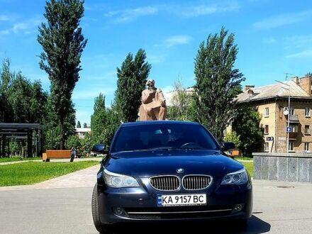 Синий БМВ 530, объемом двигателя 3 л и пробегом 258 тыс. км за 12000 $, фото 1 на Automoto.ua