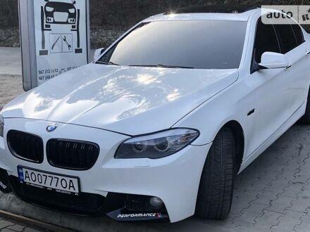 Білий БМВ 535, об'ємом двигуна 3 л та пробігом 218 тис. км за 15999 $, фото 1 на Automoto.ua