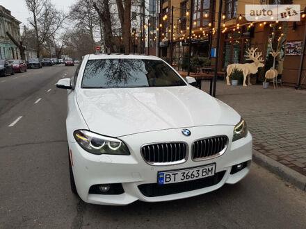 Белый БМВ 535, объемом двигателя 3 л и пробегом 112 тыс. км за 25900 $, фото 1 на Automoto.ua