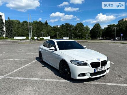 Белый БМВ 535, объемом двигателя 3 л и пробегом 166 тыс. км за 22500 $, фото 1 на Automoto.ua