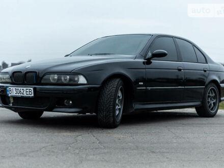 Черный БМВ 535, объемом двигателя 3.5 л и пробегом 300 тыс. км за 7500 $, фото 1 на Automoto.ua