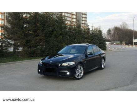 Черный БМВ 535, объемом двигателя 3 л и пробегом 240 тыс. км за 24532 $, фото 1 на Automoto.ua