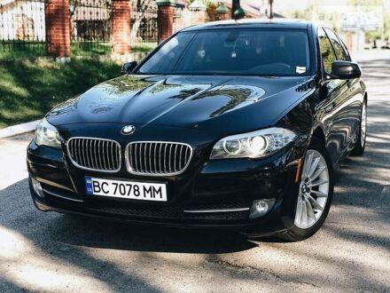 Чорний БМВ 535, об'ємом двигуна 3 л та пробігом 200 тис. км за 16999 $, фото 1 на Automoto.ua