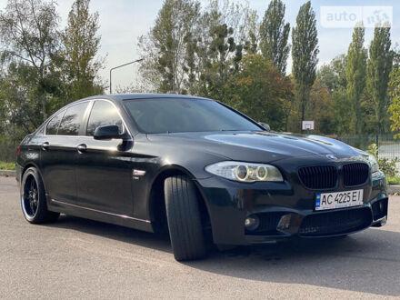 Чорний БМВ 535, об'ємом двигуна 3 л та пробігом 276 тис. км за 15500 $, фото 1 на Automoto.ua