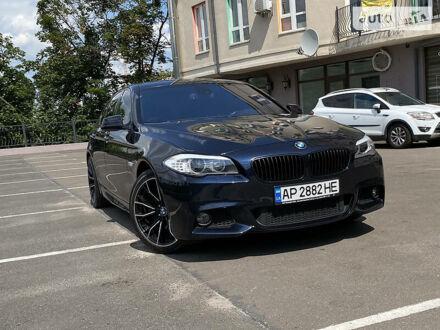 Черный БМВ 535, объемом двигателя 3 л и пробегом 212 тыс. км за 24200 $, фото 1 на Automoto.ua