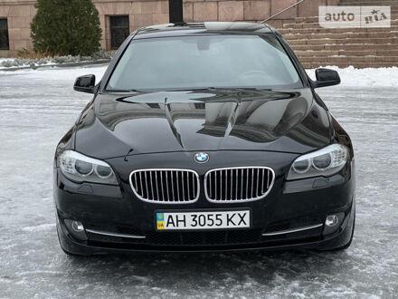 Черный БМВ 535, объемом двигателя 3 л и пробегом 99 тыс. км за 17990 $, фото 1 на Automoto.ua