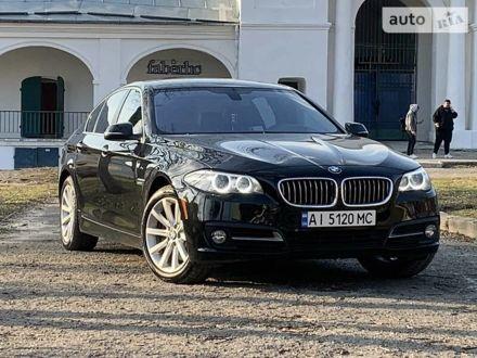 Черный БМВ 535, объемом двигателя 3 л и пробегом 136 тыс. км за 16999 $, фото 1 на Automoto.ua