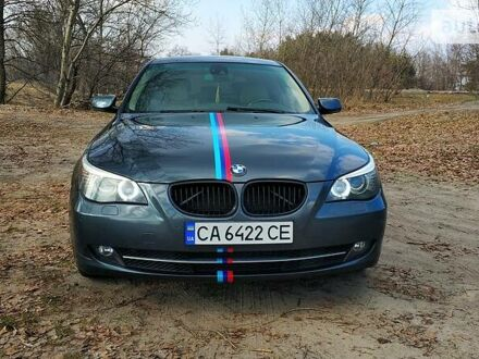 Серый БМВ 535, объемом двигателя 3 л и пробегом 215 тыс. км за 13500 $, фото 1 на Automoto.ua