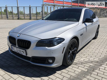 Сірий БМВ 535, об'ємом двигуна 3 л та пробігом 89 тис. км за 20999 $, фото 1 на Automoto.ua