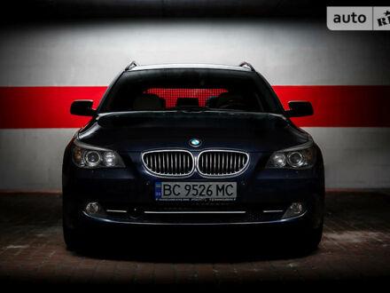 Синій БМВ 535, об'ємом двигуна 3 л та пробігом 262 тис. км за 13700 $, фото 1 на Automoto.ua