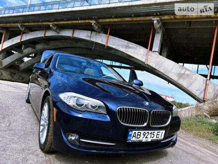 Синій БМВ 535, об'ємом двигуна 3 л та пробігом 185 тис. км за 18900 $, фото 1 на Automoto.ua