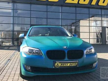 Синій БМВ 535, об'ємом двигуна 3 л та пробігом 165 тис. км за 18900 $, фото 1 на Automoto.ua