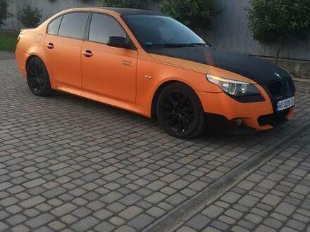 Оранжевый БМВ 535, объемом двигателя 3 л и пробегом 335 тыс. км за 10500 $, фото 1 на Automoto.ua