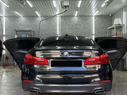 Чорний БМВ 540, об'ємом двигуна 3 л та пробігом 18 тис. км за 48300 $, фото 1 на Automoto.ua