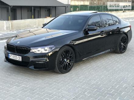 Черный БМВ 540, объемом двигателя 3 л и пробегом 23 тыс. км за 57300 $, фото 1 на Automoto.ua