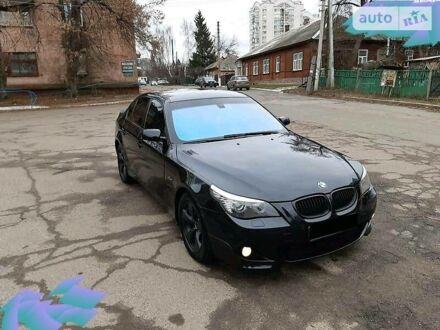 Черный БМВ 545, объемом двигателя 4.4 л и пробегом 320 тыс. км за 9700 $, фото 1 на Automoto.ua