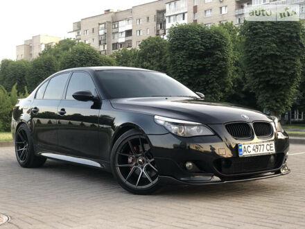 Черный БМВ 545, объемом двигателя 4.4 л и пробегом 340 тыс. км за 10350 $, фото 1 на Automoto.ua