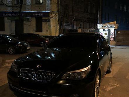 Черный БМВ 545, объемом двигателя 4.4 л и пробегом 234 тыс. км за 11500 $, фото 1 на Automoto.ua