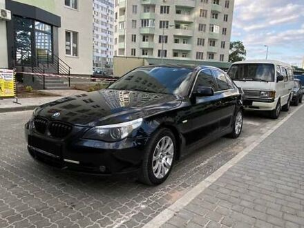 Черный БМВ 545, объемом двигателя 4.4 л и пробегом 272 тыс. км за 11000 $, фото 1 на Automoto.ua