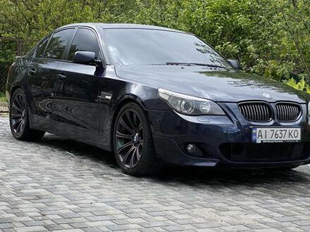 Синий БМВ 545, объемом двигателя 4.4 л и пробегом 180 тыс. км за 11500 $, фото 1 на Automoto.ua