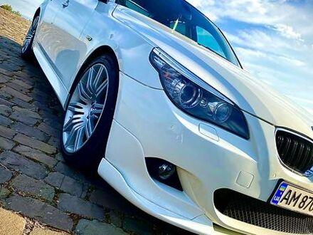 Белый БМВ 550, объемом двигателя 4.8 л и пробегом 170 тыс. км за 16500 $, фото 1 на Automoto.ua